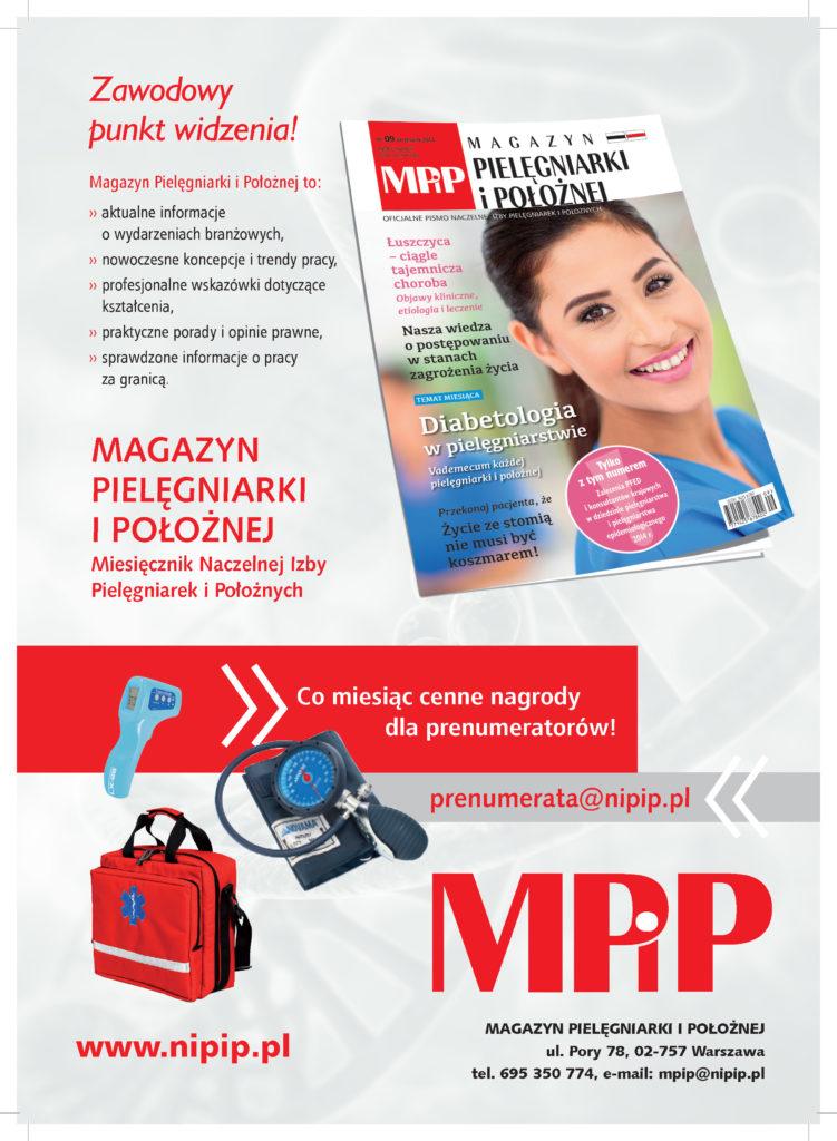 Reklama Magazynu Pielęgniarki i Położnej[1252]