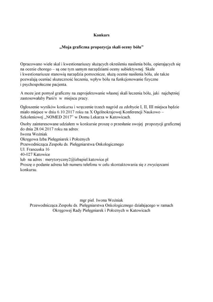 Konkurs NOMED 2017- Iwona Woźniak[1981]
