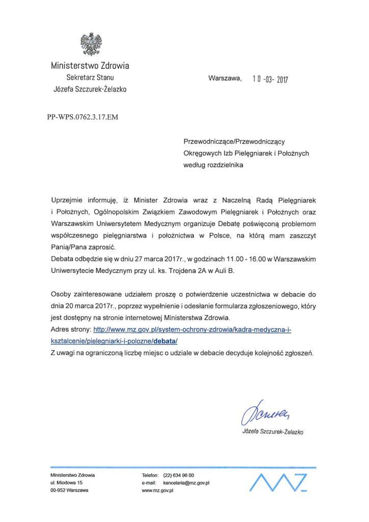 Zaproszenie na Debatę OIPiP_Strona_1