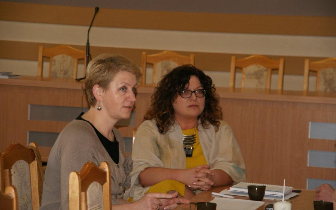 Spotkanie Pielęgniarek Oddziałowych z Dyrekcją Szpitala Wojewódzkiego w Łomży z dnia 31.01.2018r
